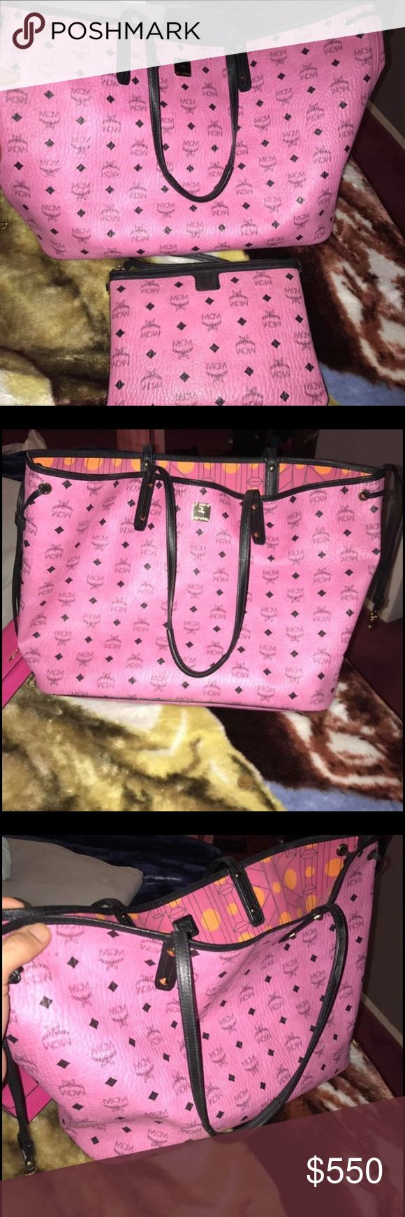 Mcm bag 100% Authentic Great condition, no stains, no marks, no rips, price is negotiable through PayPal only MCM Bags Totes