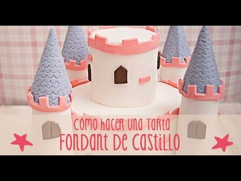 Aprendemos cómo hacer una tarta fondant de castillo. Podéis aprender a hacer otras tartas fondant en estos vídeos: Tarta fondant de Minnie Mouse: http://yout...