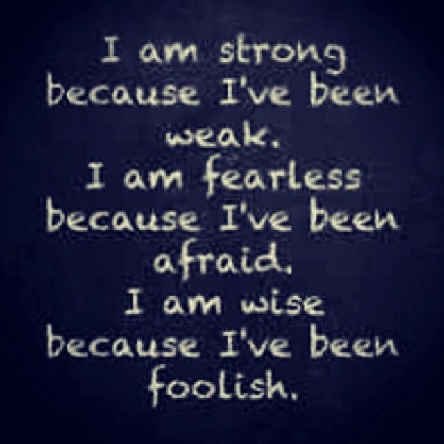Good I am strong quote