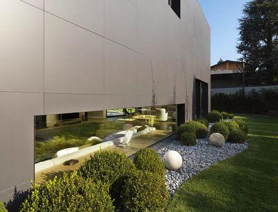 jardines minimalistas verde jardn pinterest ms ideas sobre jardn minimalista minimalistas y jardn