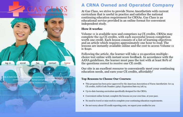 anesthesist career Nurse anesthetists need to be prepared for a wide variety of situations, which is why the career path to becoming a nurse anesthetist is an intensive one.