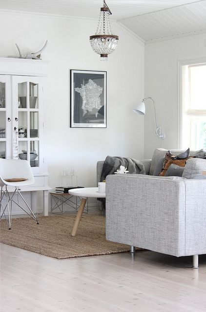 I love light neutrals.  I don't think this would ever get old - just add pillows or throws for color.
