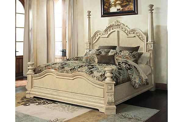 The Ortanique Poster Bed From Ashley Furniture Homestore