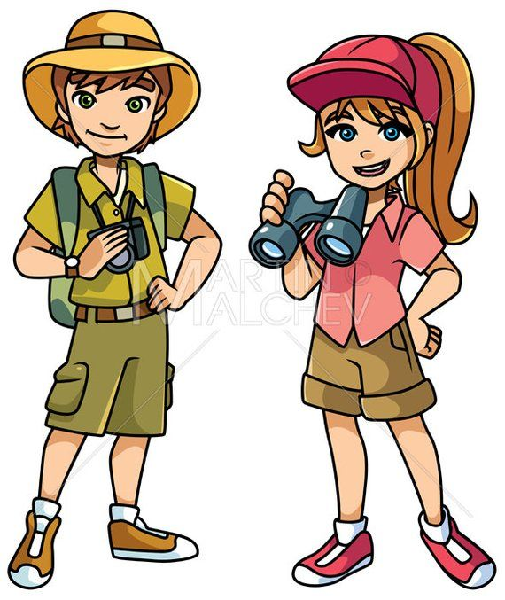 25+ Scout Books Animated Clipart