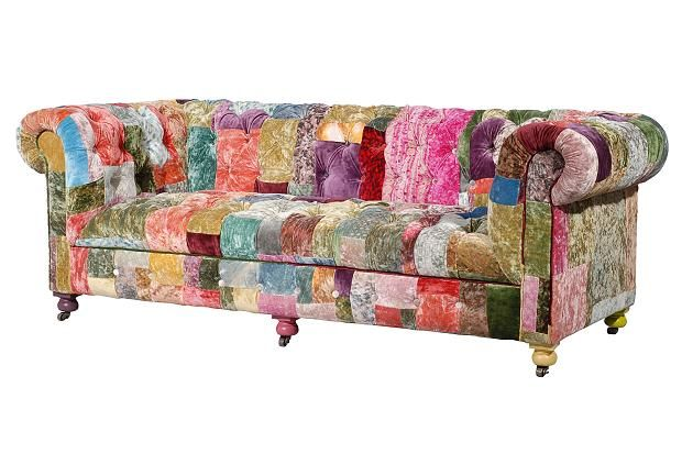 loud and proud the rise of the funky sofa velvet funky. Black Bedroom Furniture Sets. Home Design Ideas