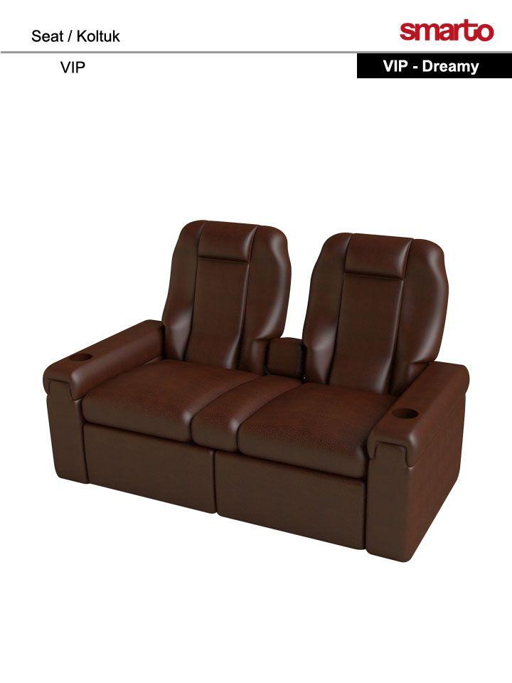 """Dreamy"" VIP Seat-Home Theater Seat-Ev Sineması Koltuğu"