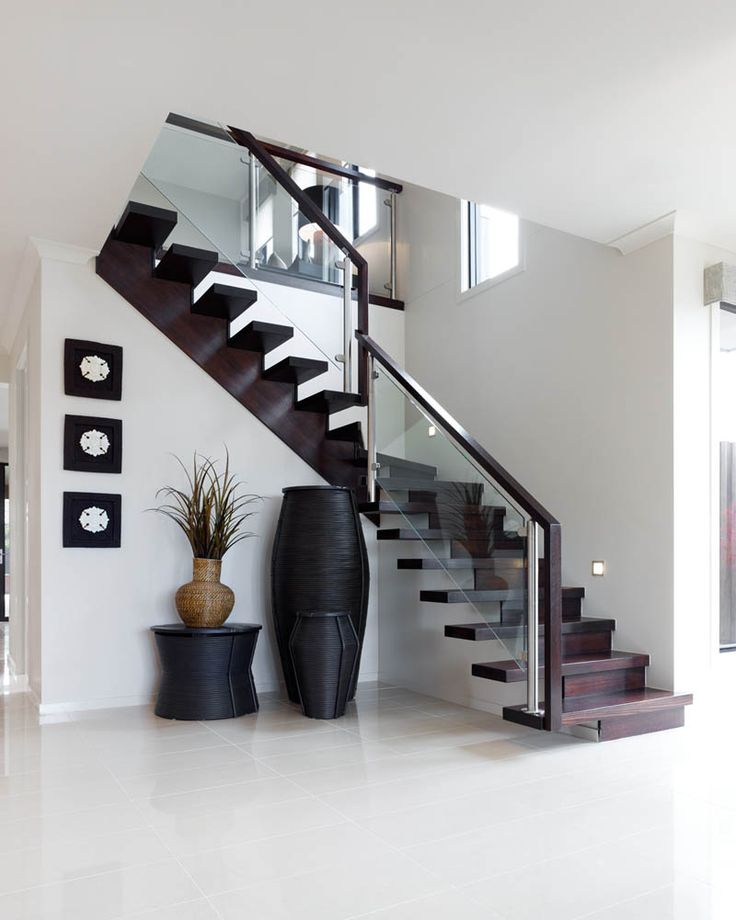 32 best entry inspiration images on pinterest for House plans with stairs in foyer
