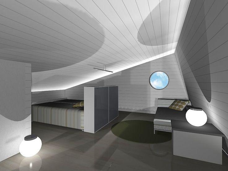 Summer house/ 2nd floor plan
