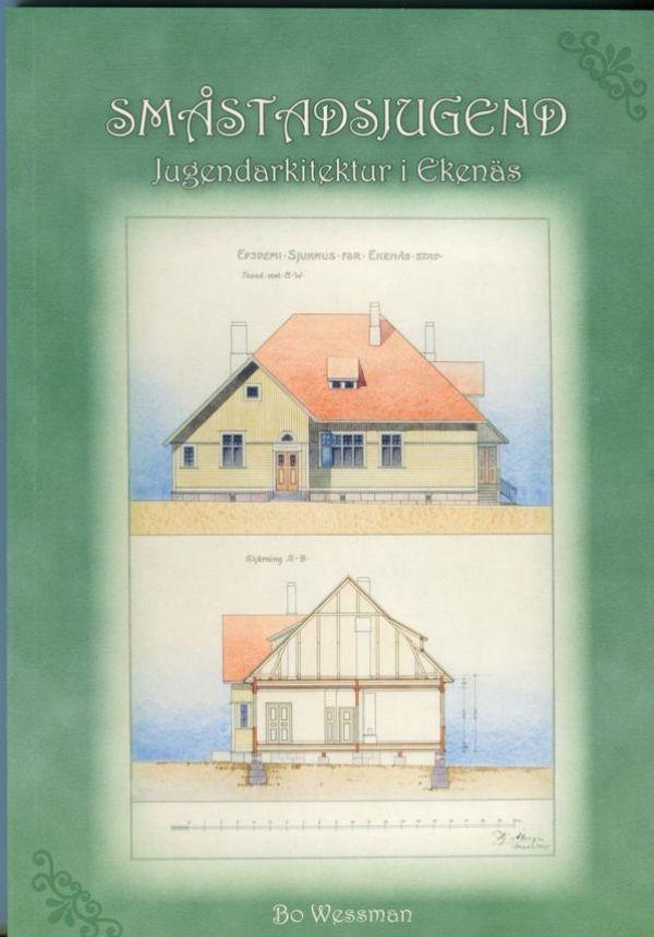 Småstadsjugend: Jugendarkitektur i Ekenäs. Wessman, Bo. 25€ #EKTAMuseumcenter #Jugend #Ekenäs #EKTAbooks