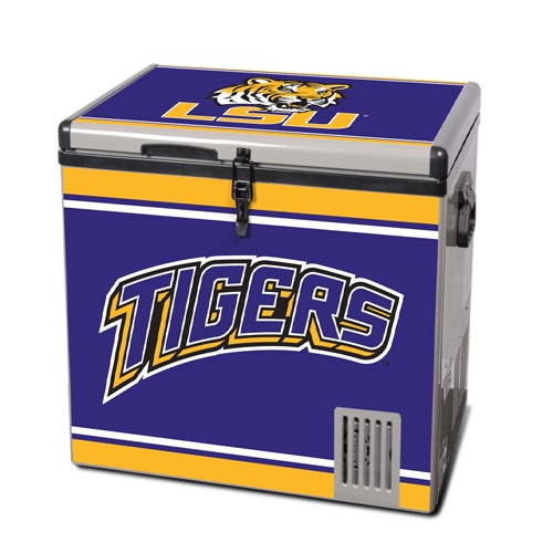 LSU Tigers Freezer Chest Memorabilia.