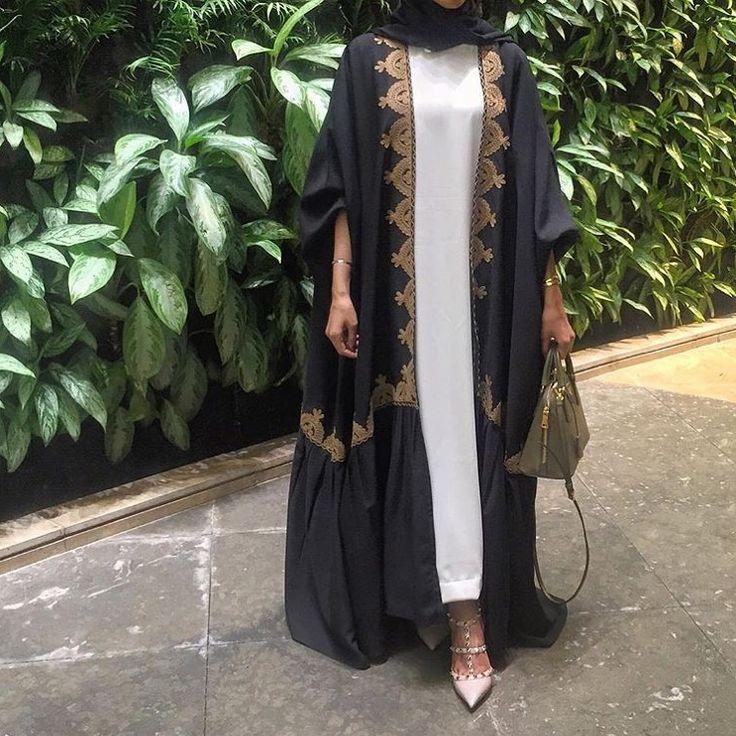 IG: By.Rema || IG: Beautiifulinblack || Modern Abaya Fashion ||