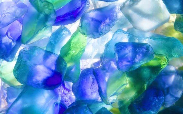 壁紙,無料,画像,フリー,ダウンロード,写真,サイト,素材,ガラスチップ, ガラス, 青, 透過, 光