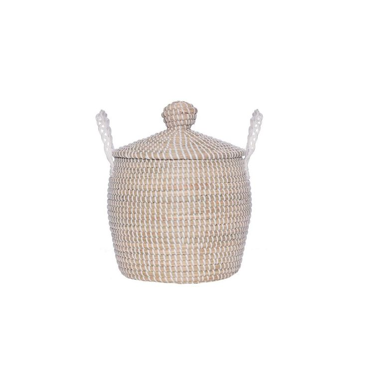 olli ella mini storage basket / Cute hard woven basket bin / Available NOW - click pic for link