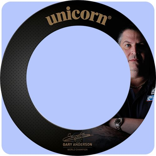 Unicorn Dartboard Surround - World Champion - Professional - Heavy Duty - Gary Anderson - http://www.dartscorner.co.uk/product_info.php?products_id=16633