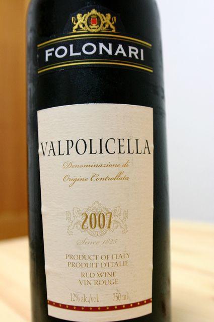 FOLONARI VALPOLICELLA 2007 1