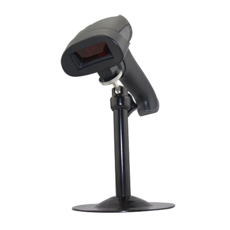 JP-A2+stand Freeshipping! wireless barcode scanner with stand USB barcode scanner +cradle wireless barcode reader with bracket