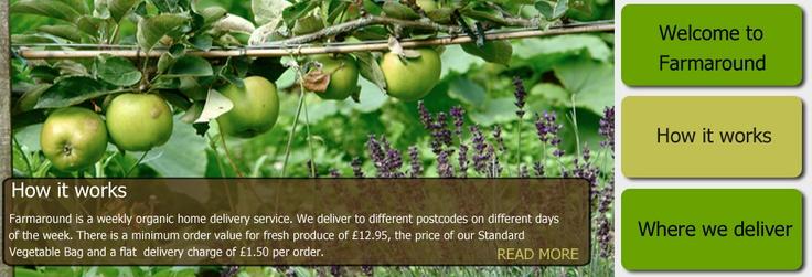 Farmaround Organic - Delivery Service