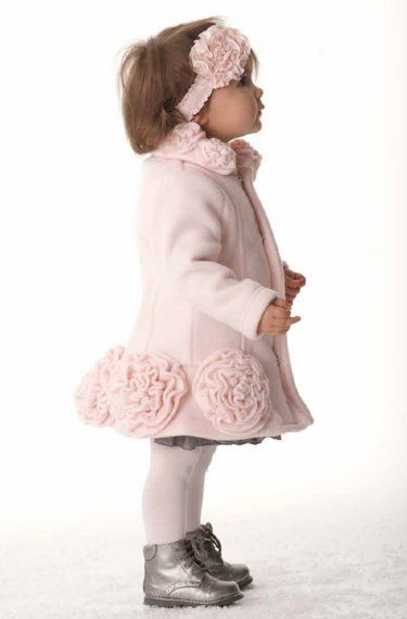 Kate Mack Pink Rose Dress Coat 9 Months To 6xnow In Stock