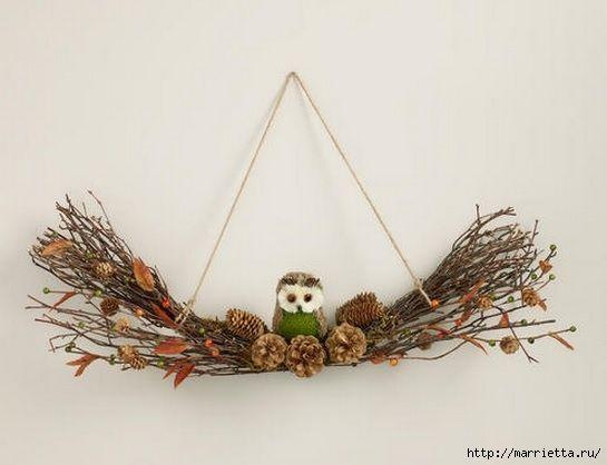 Красивые идеи для декора из природных материалов (58) (545x418, 94Kb)