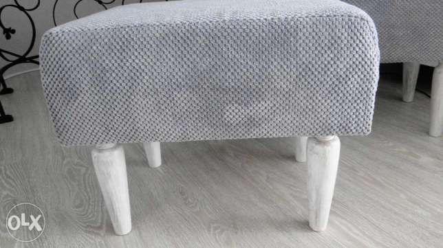 pufa ławka ławeczka siedzisko szary Niemce - image 1