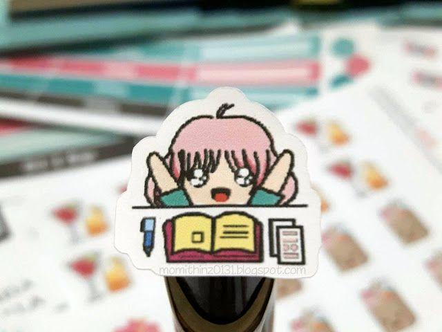 Planning Chibi Kawaii Planner Sticker
