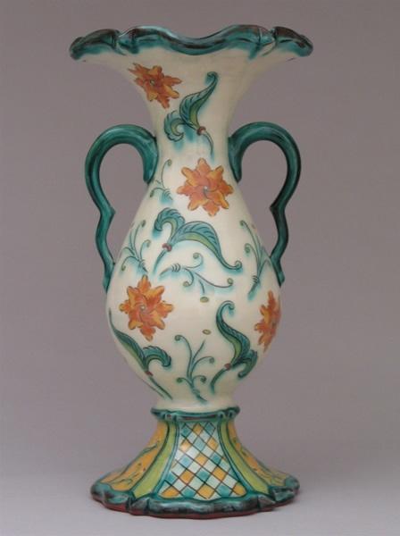 Jim Smith: Vase with Rosettes Chester, Nova Scotia