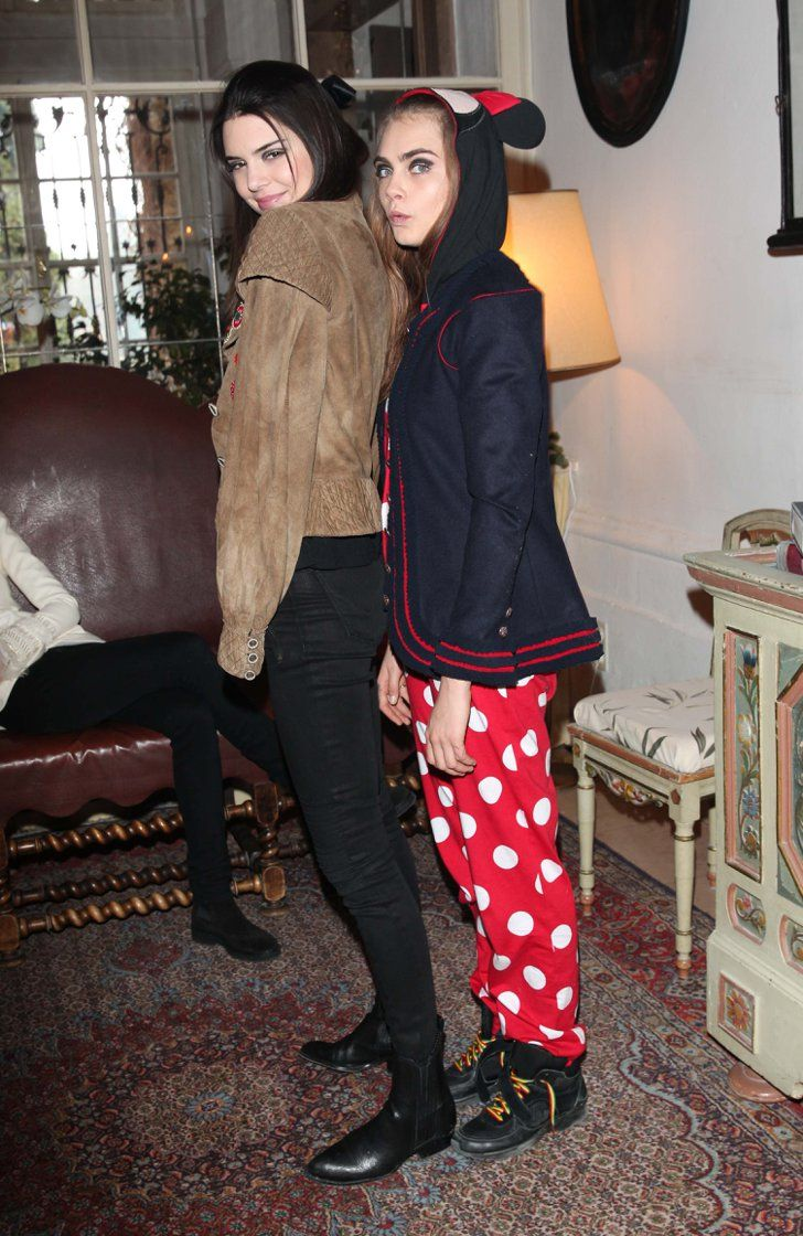 Pin for Later: 17 Times Celebrities Totally Outdressed Their Dates Kendall Jenner and Cara Delevingne