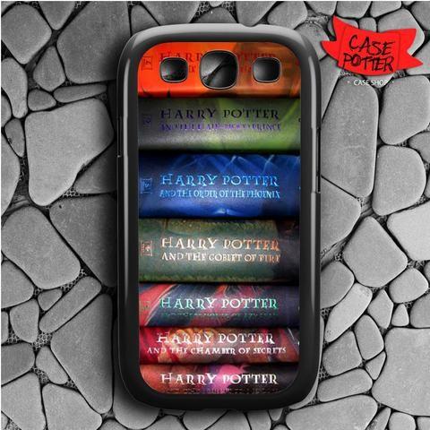 Harry Potter All 7 Book Samsung Galaxy S3 Black Case