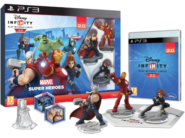 Infinity Marvel Super Heroes Avengers Starter Pack (PlayStation 3)