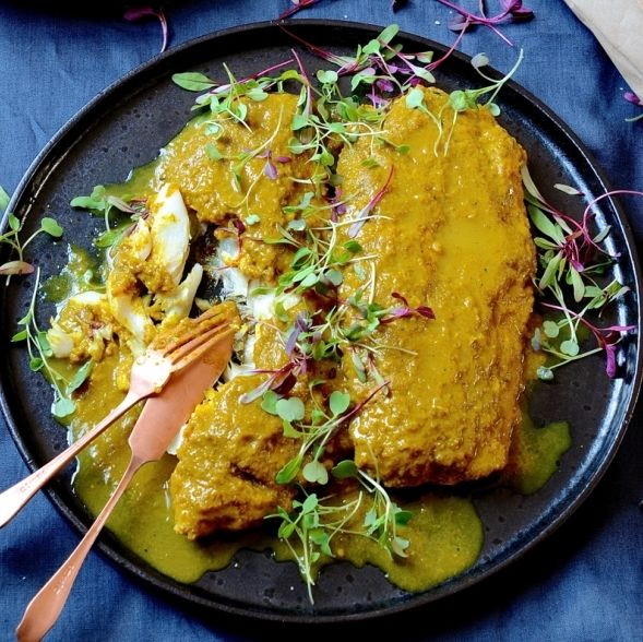 south african traditional pickled fish