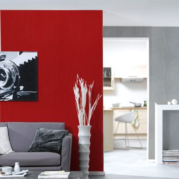 21 best ID déco rouge images on Pinterest Red walls, Home ideas - Photo Cuisine Rouge Et Grise