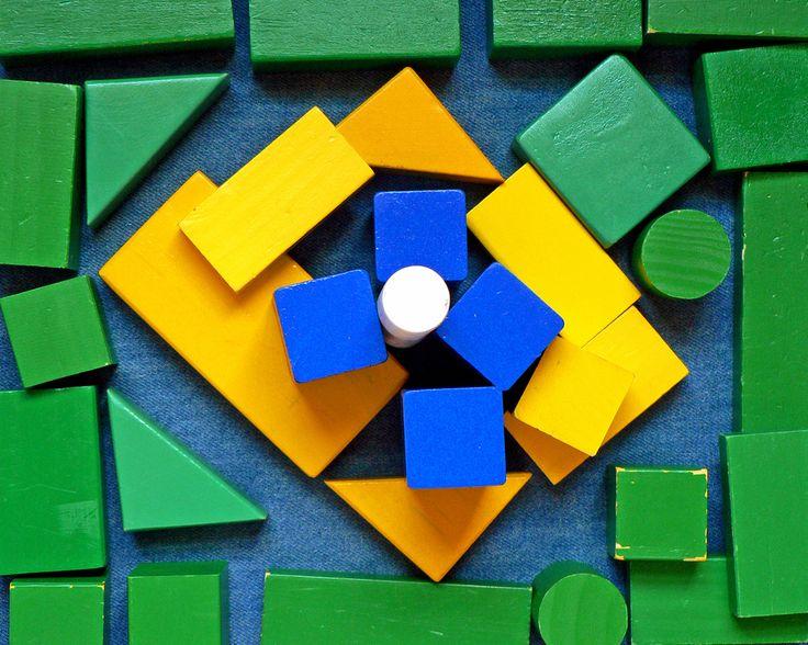 verde, amarelo, azul e branco