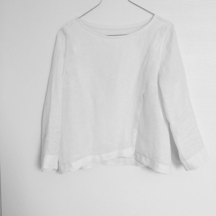 blouse in pure linen, all sizes, elegant and sporty di fififrufru su Etsy