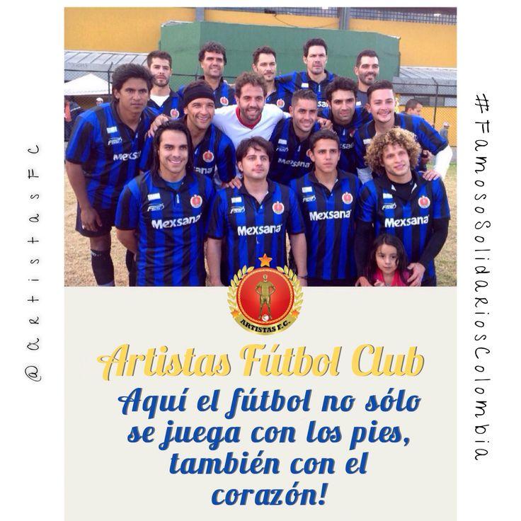 Artistas Fútbol Club  #FutbolConSentidoSocial