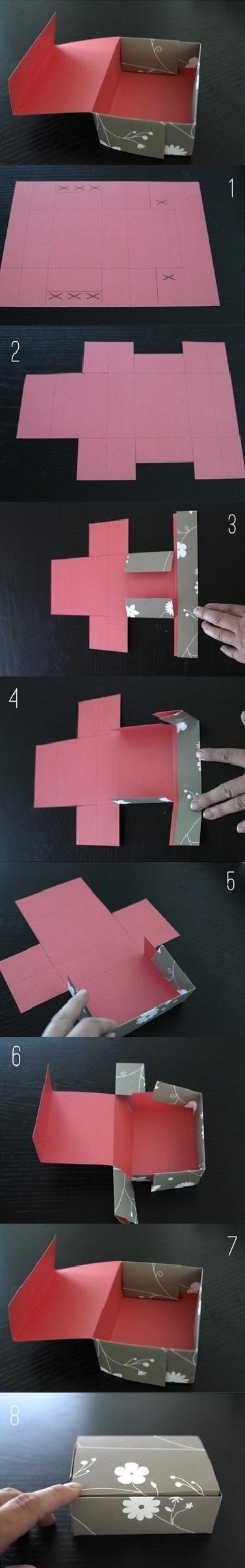 DIY Simple Gift Box DIY