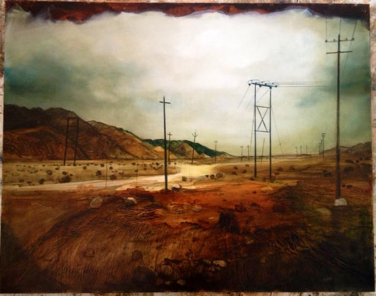 poles  oil on canvas 120 x 150 cm part of the stillness series