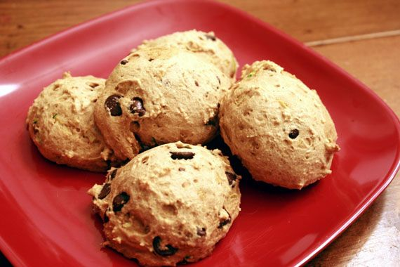 Need a healthy treat, try these Banana Zucchini Cookies!