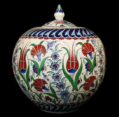 TURKISH CERAMIC WATERMELON VASE -30 cm