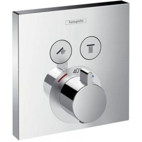 ShowerSelect Concealed Thermostatic Valve For 2 Outlets