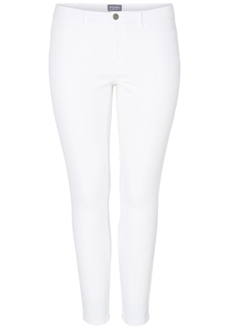 De sejeste Hvide queen jeans Junarose Modetøj til Damer til hverdag og til fest