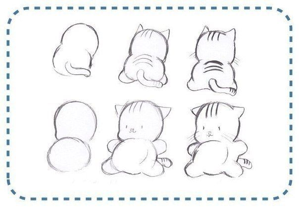 Como dibujar a un gato - Imagui