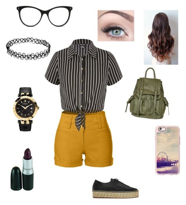"""""""Untitled #43"""" by nat2124 on Polyvore featuring STELLA McCARTNEY, LE3NO, City Chic, Alexander Wang, Casetify, Topshop and Versace"""