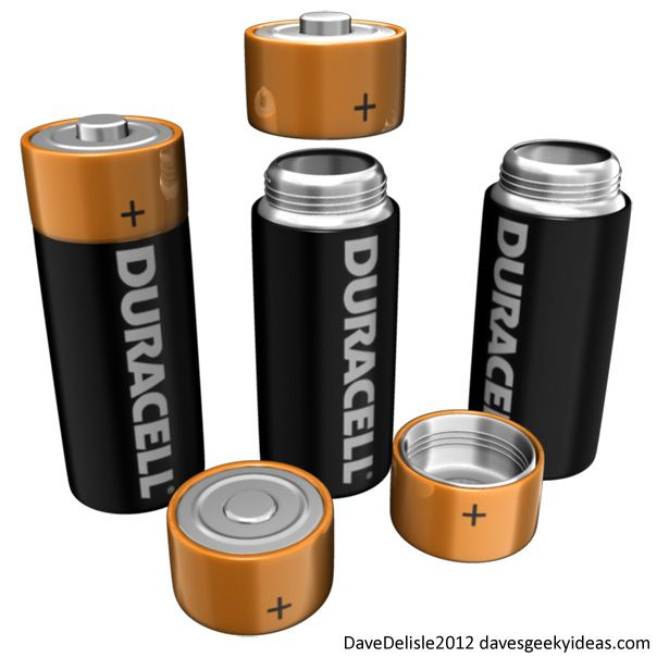 Duracell Battery Coffee Thermos Container