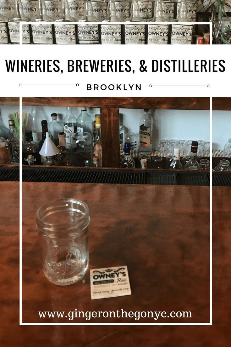 New York City is making a new name for itself as a leading location for wineries, breweries, and distilleries. Visit some of over 40 new spots in NYC.