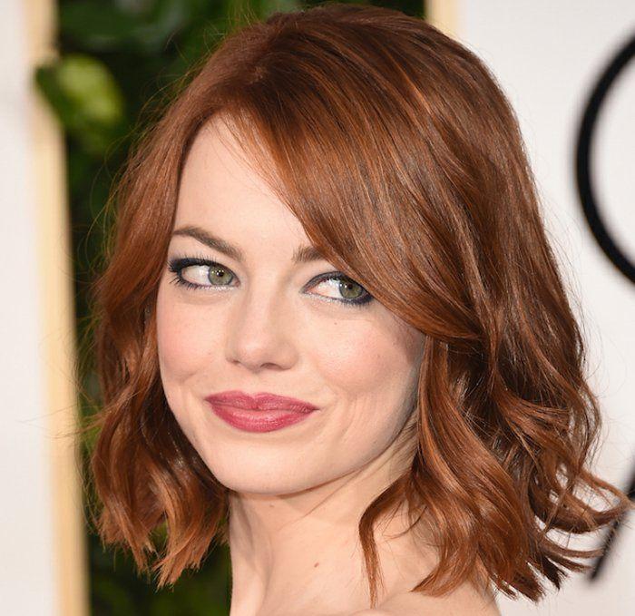 couleur cheveux caramel coiffure tendance - Coloration Roux Cuivr