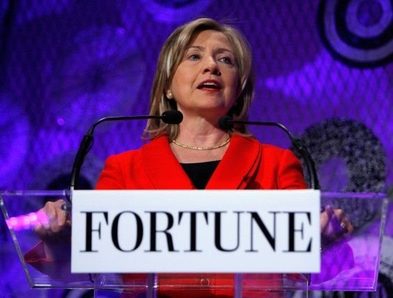 Hillary is the corporate candidate, Twenty-nine of the 30 Dow Jones Industrial Average index companies have given money to her | AgainstCronyCapitalism.org
