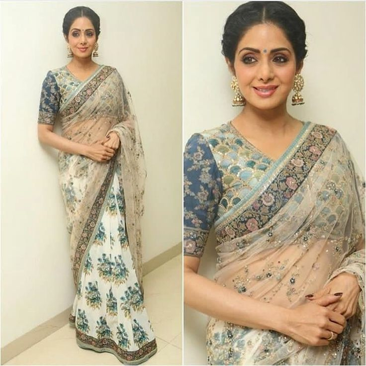 "53k Likes, 128 Comments - Sabyasachi Mukherjee (@sabyasachiofficial) on Instagram: ""#SriDeviKapoor @sridevi.kapoor in a #Sabyasachi #Saree #TheUdaipurCollection #SpringCouture2017…"""