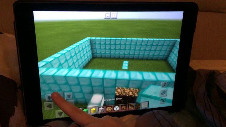 Как построить замок в minecraft