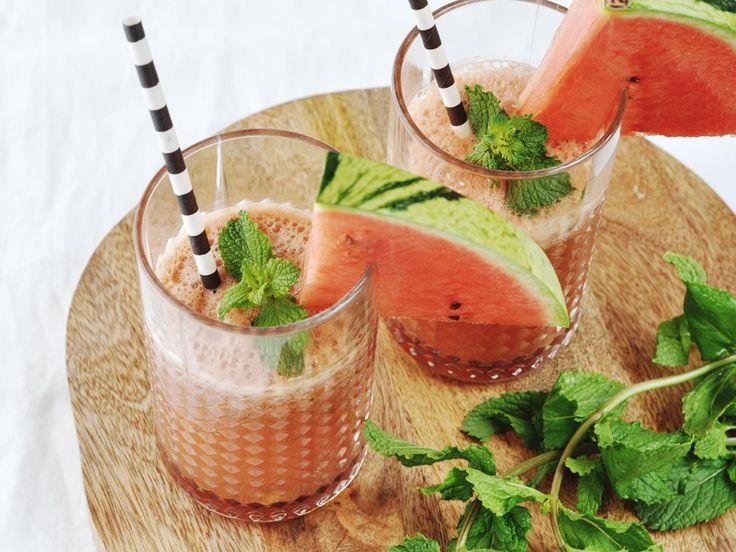 Zomerse Watermeloen Limonade ❥