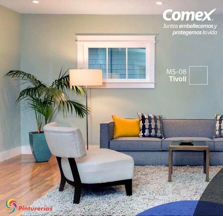 Crea un ambiente tranquilo y fresco usando los tonos for Combinacion de colores para interiores